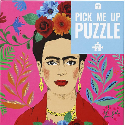 Frida Kahlo Portrait Puzzle 500 pieces
