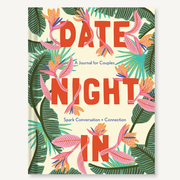 Date Night In: A Journal for Couples to Spark Conversation - Freshie & Zero Studio Shop