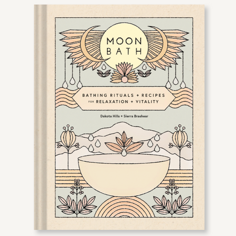 Moon Bath - Bathing Rituals and Recipes for Relaxation and Vitality Book
