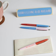 Set of 3 pens by Lisa Congdon - Freshie & Zero Studio Shop