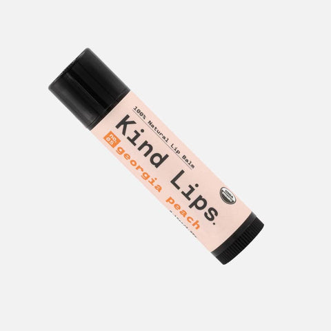 Kind Lips Organic Lip Balm - Georgia Peach