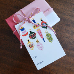 Holiday Gift Tags - Deck the Halls - Freshie & Zero Studio Shop