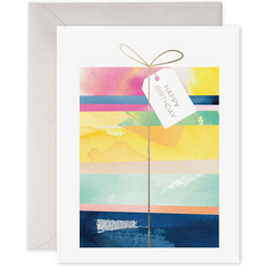 E. Frances Cards - Giftwrapped Birthday - Freshie & Zero Studio Shop
