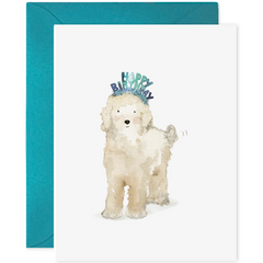 E. Frances Cards - Birthday Dog - Freshie & Zero Studio Shop