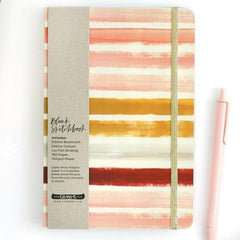 Sunset Stripe Sketchbook - Freshie & Zero