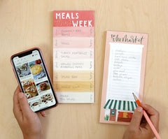 Meals This Week Planning Notepad by 1canoe2
