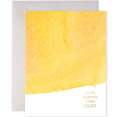 E. Frances Cards - After Darkness Comes Light - Freshie & Zero Studio Shop