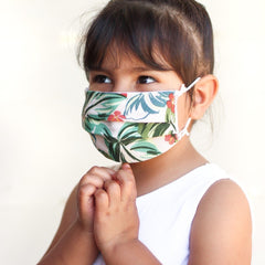 Printed Cotton Face Masks for Kids
