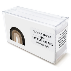 black lives matter little notes small flat notecard made in the usa
