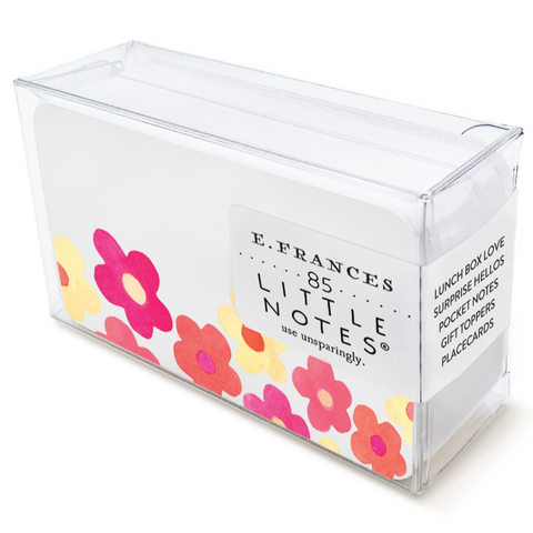 Little Notes Notecards - Flowers