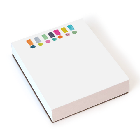 Chunky Exclamation Notepad by E. Frances Paper