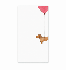 Chunky Hot Dog Notepad by E. Frances Paper - Freshie & Zero