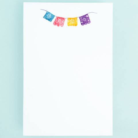 Notepad - Mexican Party Banner