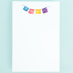 Notepad - Mexican Party Banner - Freshie & Zero