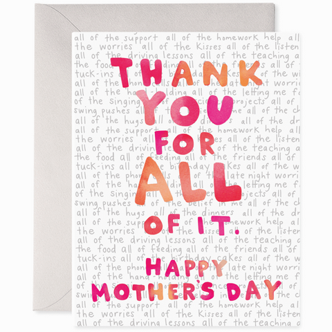 E. Frances Cards - Mother's Day Thank You