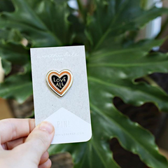 Love All Enamel Pin - Freshie & Zero