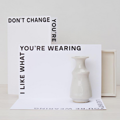 Don't Change Card by Noat Paper