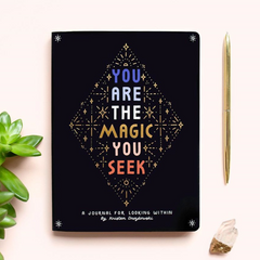You Are the Magic You Seek Guided Journal - Freshie & Zero Studio Shop