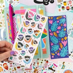 Frond Memories by Polina Oshu Sticker Sheet - Freshie & Zero Studio Shop