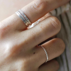 Sparkle Stacking Ring - Freshie & Zero Studio Shop
