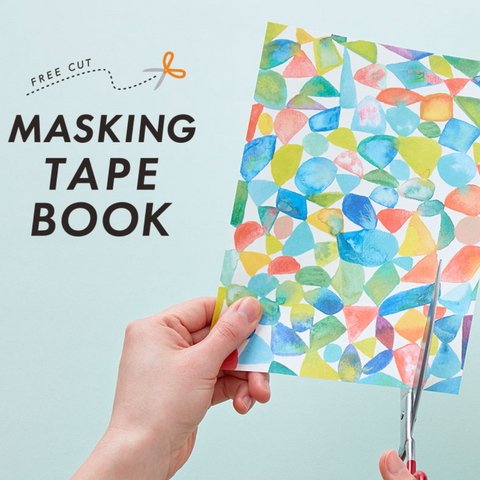 Washi Tape Paper Sheets: Postcard Sized Book