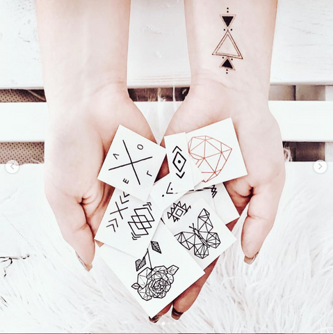 Hand Drawn Temporary Tattoos