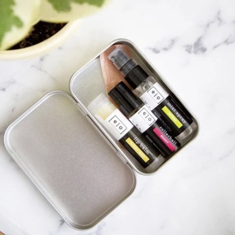 Essential Oils Travel Tins