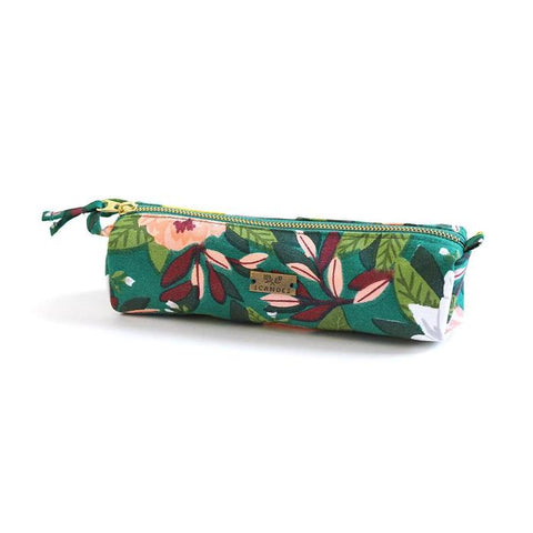 Pencil Pouch - Ambrose Green Floral