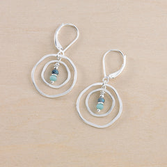 Cloud Azure Earrings - Freshie & Zero Studio Shop
