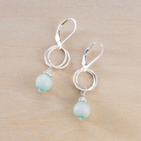 Audrey Earrings - Jade