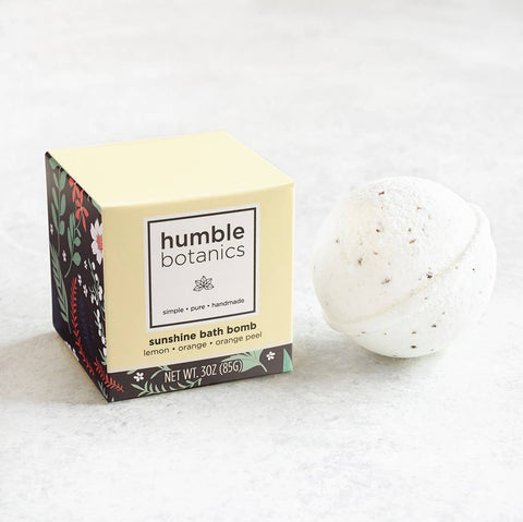 Essential Oils Bath Bomb - Organic Orange & Lemon