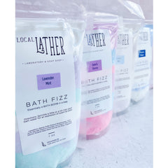 Bath Fizz Bath Bomb in a Bag - Lavender Mint - Freshie & Zero Studio Shop