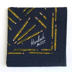 Hemlock Bandana - Pencils - Freshie & Zero Studio Shop