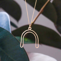 Big Arch Necklace - Freshie & Zero Studio Shop