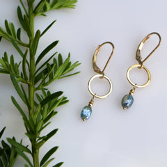 Bloom Earrings - Freshie & Zero | artisan handmade hammered jewelry | handmade in Nashville, TN