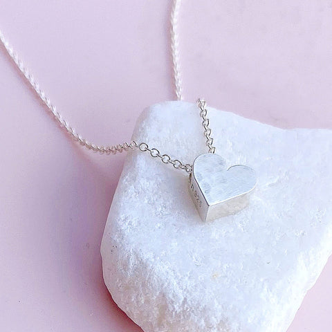 Tiny Mighty Heart Necklace