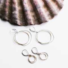 mini caldera earrings - Freshie & Zero