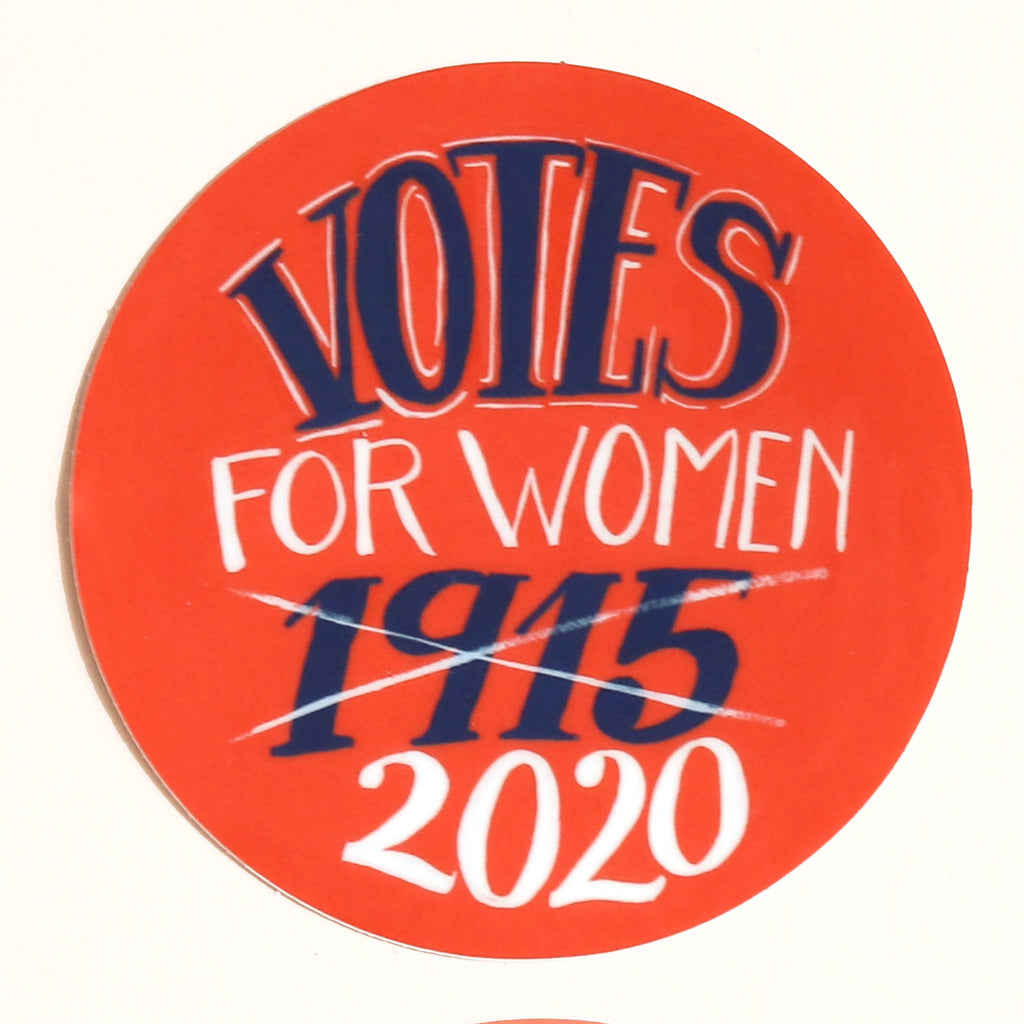 Votes for Women Sticker 1915 2020