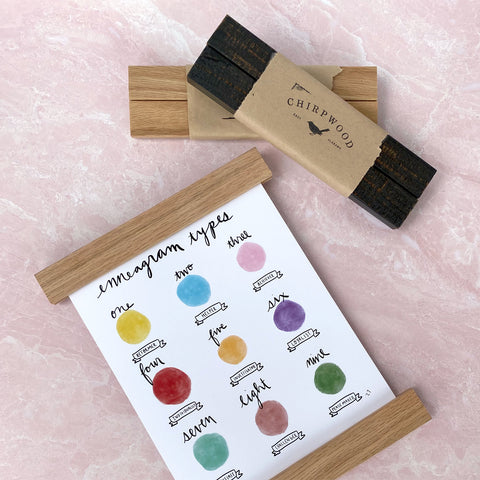 Minimalist Wooden Wall Stick Frames - new colors!