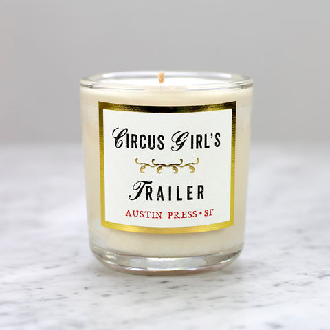 Candle - Circus Girl's Trailer - Flowers & Velvet