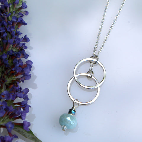 Clear Sky Necklace