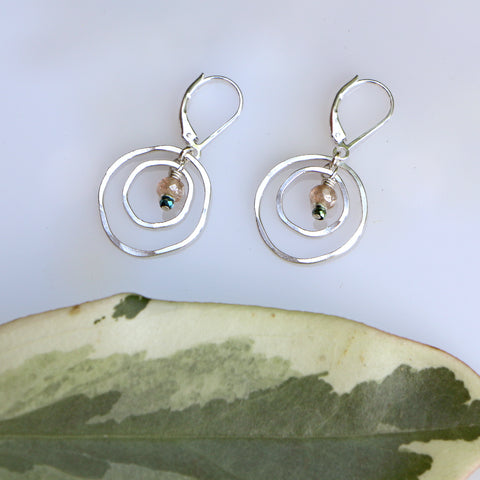 Cloud Forest Earrings - Through the Trees