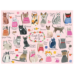 Cool Cats A-Z Puzzle 1000 pieces - Freshie & Zero Studio Shop