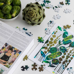 Botanical Song Puzzle - 500 pieces - Freshie & Zero Studio Shop