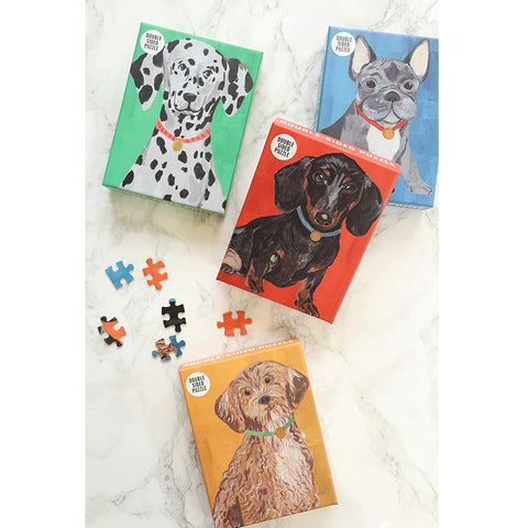 Mini Dog Puzzle 100 pieces