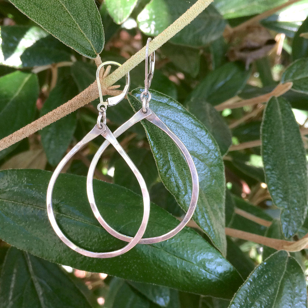 heavy drop - Freshie & Zero | artisan handmade hammered jewelry | handmade in Nashville, TN