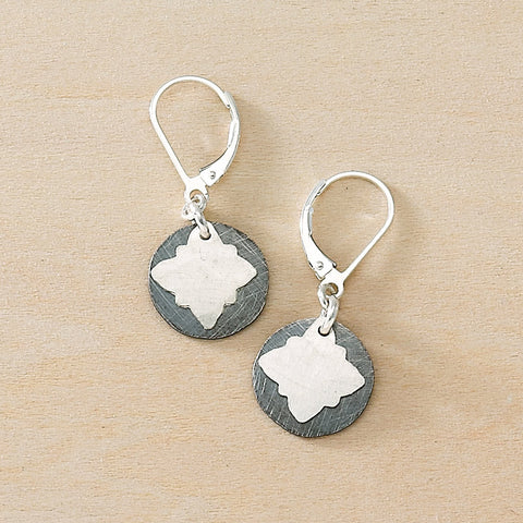 inky vignette earrings