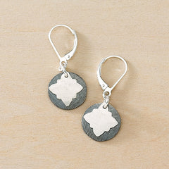 inky vignette earrings - Freshie & Zero  - 1