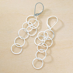 cartwheel earrings - Freshie & Zero  - 1