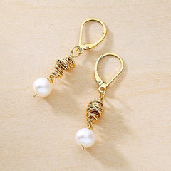 swirl earrings - Freshie & Zero  - 2